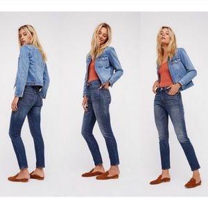 LEVI'S 501 High Waist Skinny Stretch Jeans